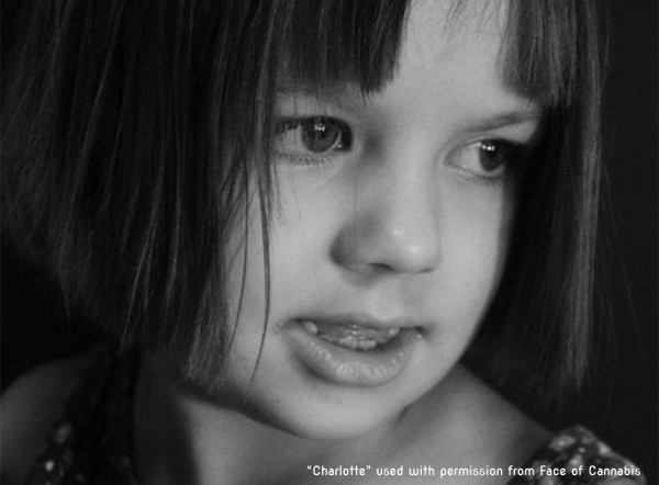 Charlotte Figi from Face of Cannabis, a website devoted to children who have found relief from serious medical problems with CBD-rich cannabis Face of Cannabis